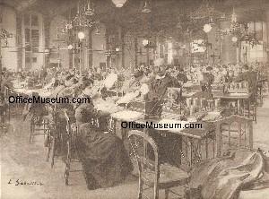office photos 1900 1903. Black Bedroom Furniture Sets. Home Design Ideas