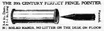 1907 Twentieth Century Pencil Pointer OM.jpg (85753 bytes)
