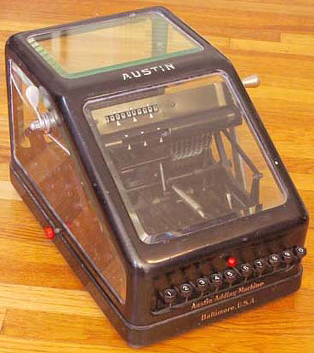 american adding machine 1912