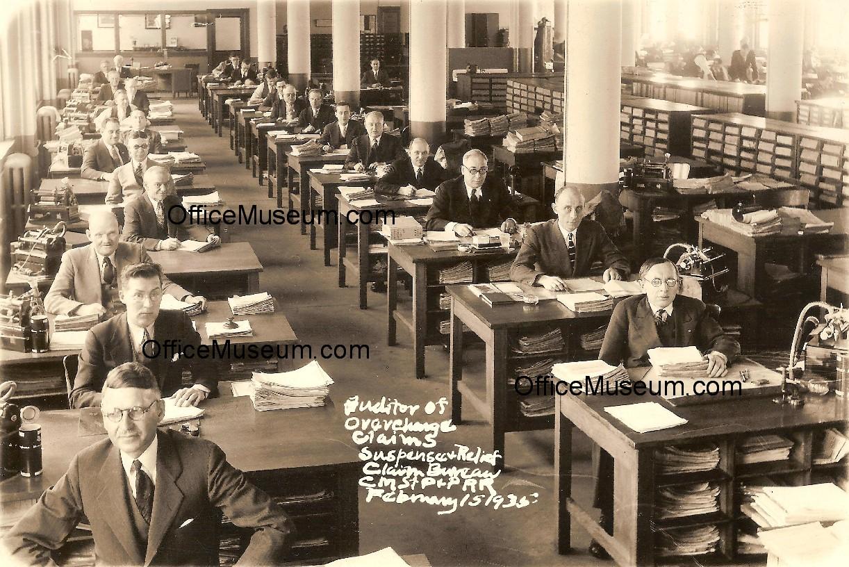 Old Fashioned Secretary Office