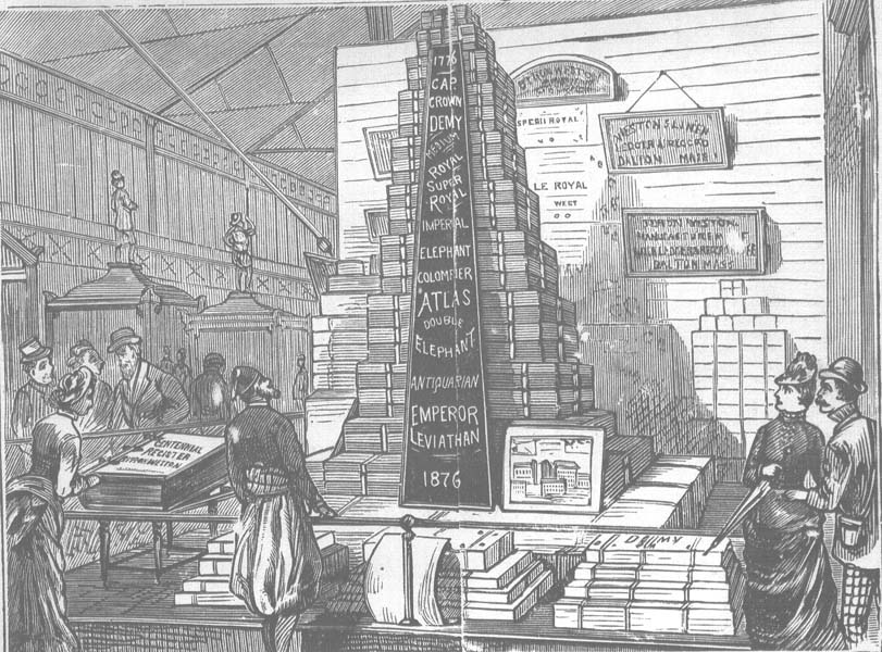 office equipment at the 1876 exposition