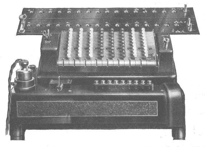 the millionaire calculating machine