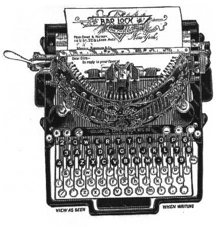 Ye Olde Typing Apparatus