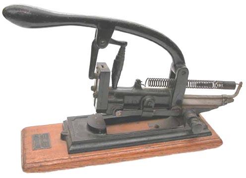 boxer stapling machine