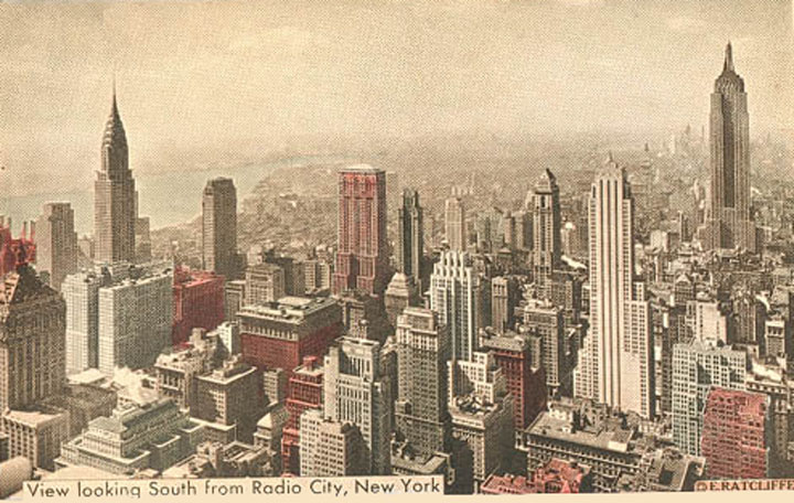 New York Skyline, 1919.