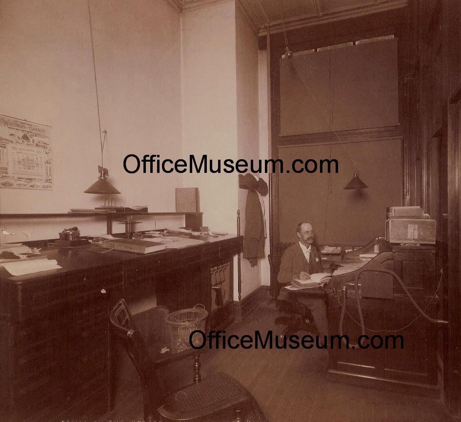 Tube office Quadrifoglio 1895officewithspeakingtubeabbottcheckperforatoromjpg 230433 Bytes 1viagrainfo Office Photos 18951899