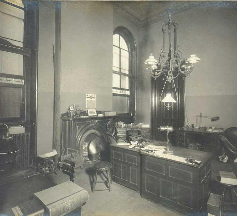 Office Photos ~ 1910 Photos by William H Rau