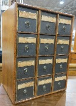 Cabinet With Pigeon Hole Boxes OM (193803 Bytes)