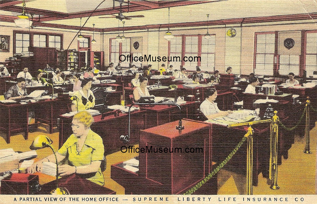 Office Photos - Early Office Museum