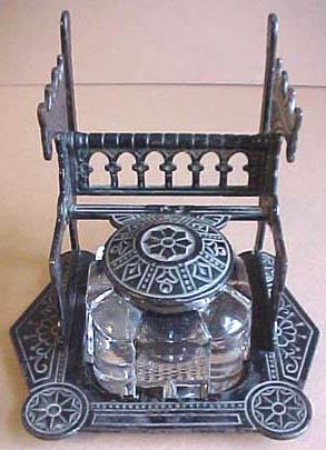 dating antique inkwells