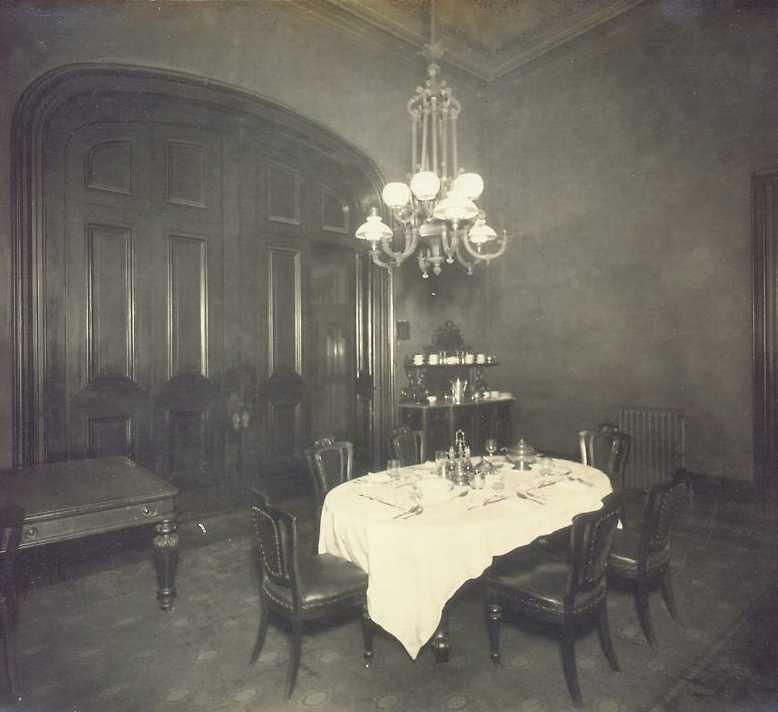 Executive Dining Room: 1910 Photos By William H Rau