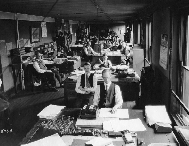 1920s seattle office photos 1920s