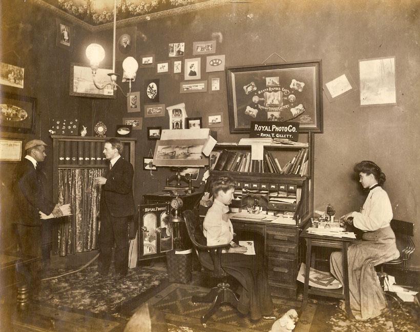 office photos ~ 1910-1911