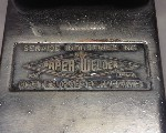 Paper Welder nameplate Service Industries Inc Boston 1936-40.jpg (33332 bytes)
