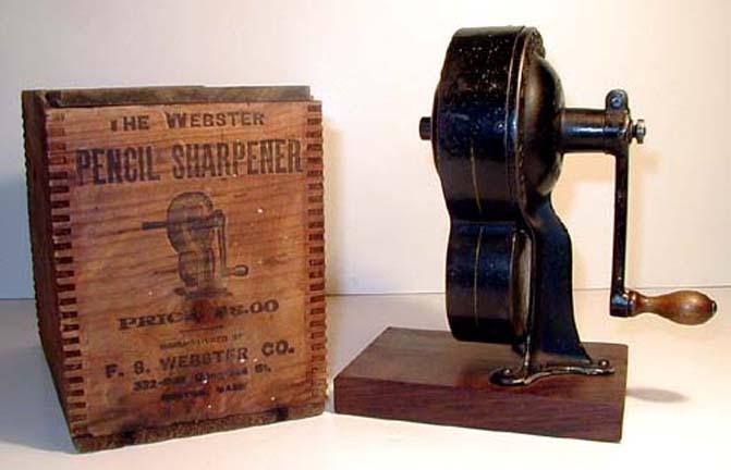 Plate 7 Webster Pencil Sharpener Jpg 32179 Bytes